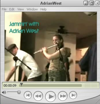 Jammin' with Adrian