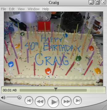 Craig's Birthday
