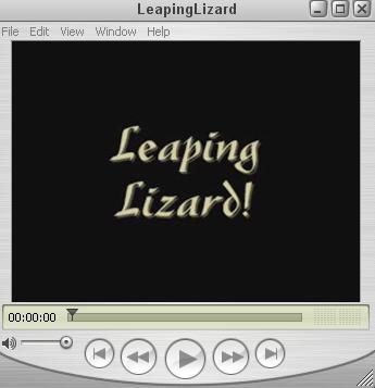 Leaping Lizard
