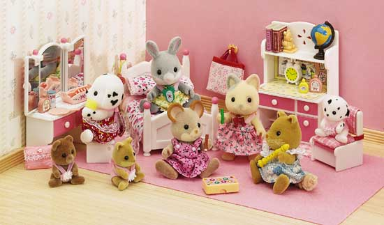 Valentine One: Calico Critters